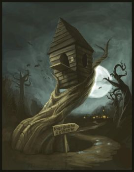 DMCHAT :: A Witch's House... by Norke
