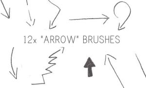 Arrow Brushes by PinkMai
