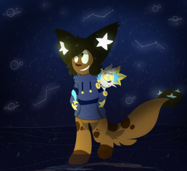 look at the stars (entry) by DoodleSnek