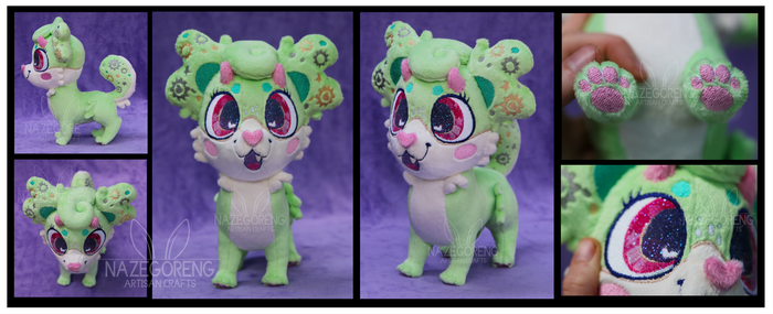 Gadget the Luumie Custom Plush by Nazegoreng