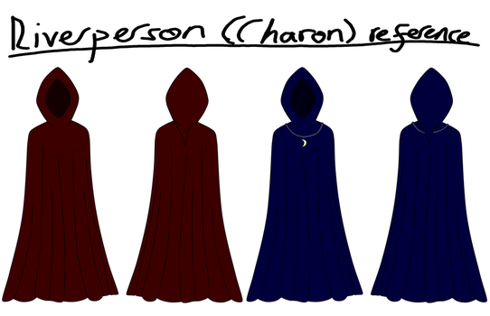 Undergott: Riverperson (Charon) Reference by Lilienwald