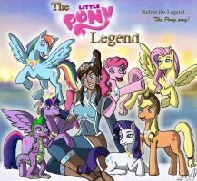 The Little Pony Legend. Korra/Pony Crossover! by MaggiesHeartLove