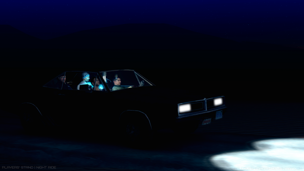 Players' Stand | Night Ride by falloutshararam