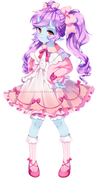 c: mikiwato [+SPEEDPAINT] by LaDollBlanche