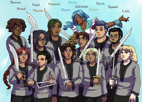 Team Flashback by ErinPtah