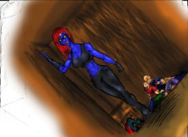 Dont mess with Mystique by Sabrerine911