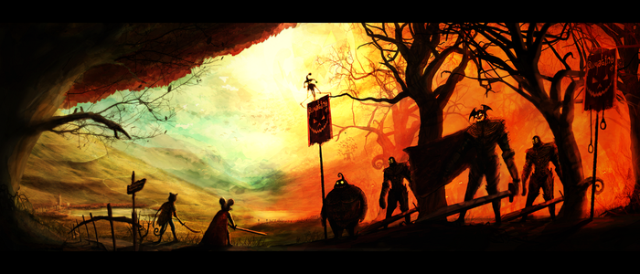The Day Of The Pumpking by Borruen
