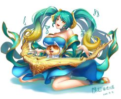 LOL_Sona and Teemo by chanseven