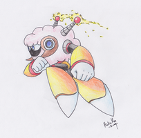 Sheep Man in action by Tufsing