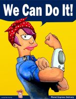 Leela the Riveter by Gulliver63