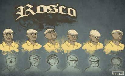 Rosco - head design by blue-elem3nt