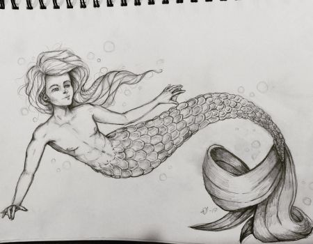 Merman by BeautifullyRand0m