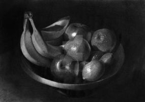 Fruits In Bowl, Still Life by TarcDnB