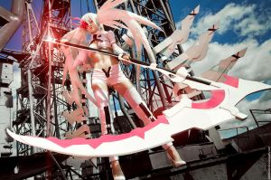 A5uKa_Cosplay White Rock Shooter by A5uKa