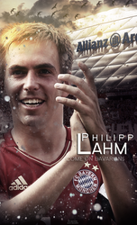 Philipp Lahm - WALLPAPER by Ds-Bayern