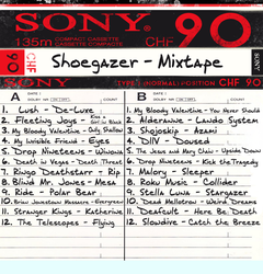 Shoegazer - Mixtape by FrogStar-23