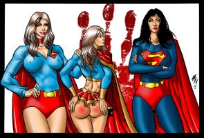 Super Spanking 2 Commission by ericalannelson