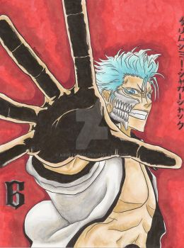 Grimmjow Copic practice by kimster811