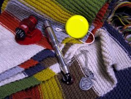 4th Doctor's Stuff by Police-Box-Traveler