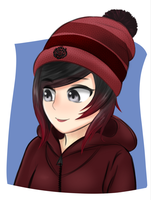 Hoodie Ruby Rose by brown-nii