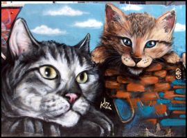 Gatos Kiz+Hec by koolkiz