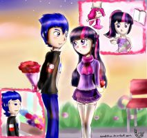 :CE: Valentine's day~ by Cometshina