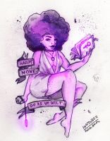 Afro Witch by Ashty187
