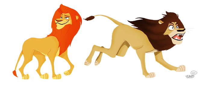 LIONS by chillyfranco