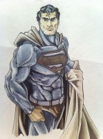 Superman Copic by jonathan-munro
