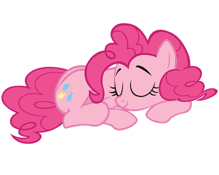 Sleepy Pinkie Pie Vector by ikillyou121