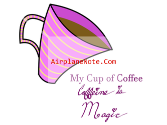 My Cup of Coffee Cup Design by WhiteShoeQueen