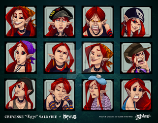 Kayo Expressions by Javadoodle
