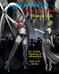 Cover Illustration for Angela Morris - The 49 Club by knottysilkscarf