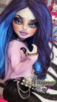 ~Rayne~ Monster High OOAK Rochelle Goyle repaint by RogueLively