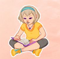 Rose Lalonde: Tome Raider by shandyscribs