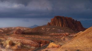 Road and Red Rocks by sciph