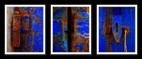 Moroccan Rust Triptych by GreenEyedHarpy
