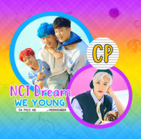 203| NCT DREAM (WE YOUNG) PHOTOPACK by CloudPhotopacks