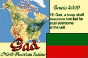 Tribe of Gad so called Native Americans Indians by 12TribesOfIsrael