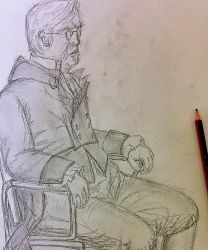 Life drawing by KateHodges