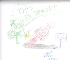 This is Sparta Sakura by shock777