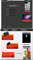 App dev site theme pack by TheGraphicGeek