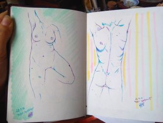 Sketchbook Human Anatomy 6 - Perfect Imperfections by FeelingsAreForbidden