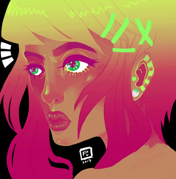 !!! (neon colorway) by Maddie6968