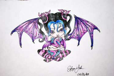 Dragon Child by SilentSinner666