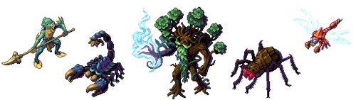 Isometric Monsters - Echoes of Aetheria by Cyangmou