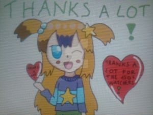 thanks a lot to everyone for the 150+ watchers by shana-1