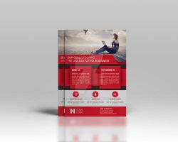 Corporate Flyer Template by Cristalpioneer