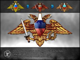 Russian Armed Forces logotype by Diamond00744