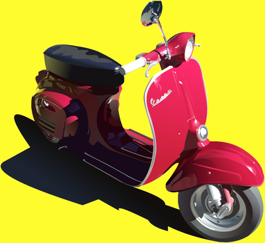 i heart my vespa by drownsoda